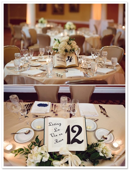 Libros en bodas