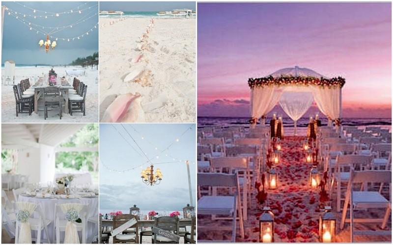 Ideas para una boda en la playa- Organizar boda en 30 dias