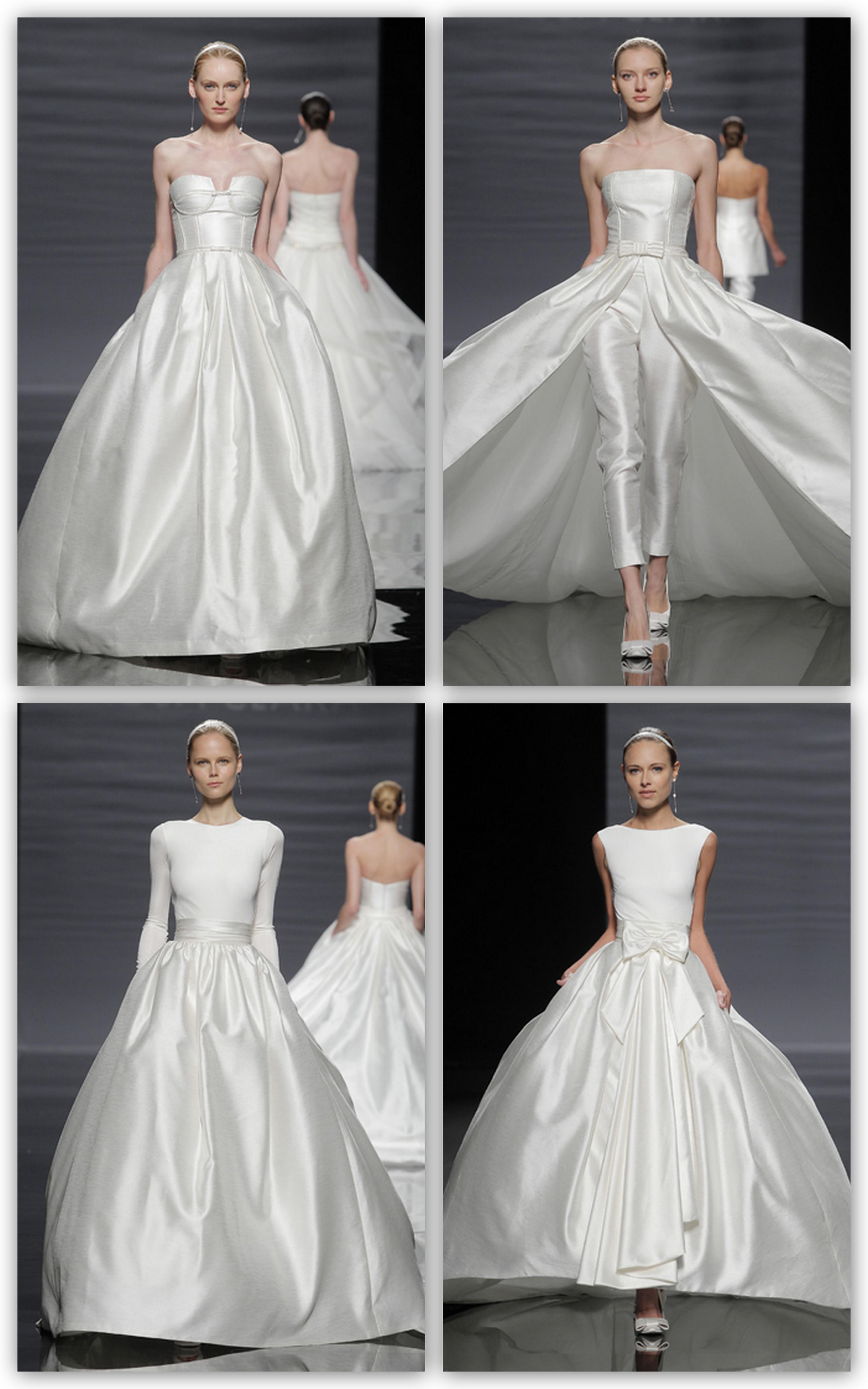 Vestidos arquitectónico y princesas modernas
