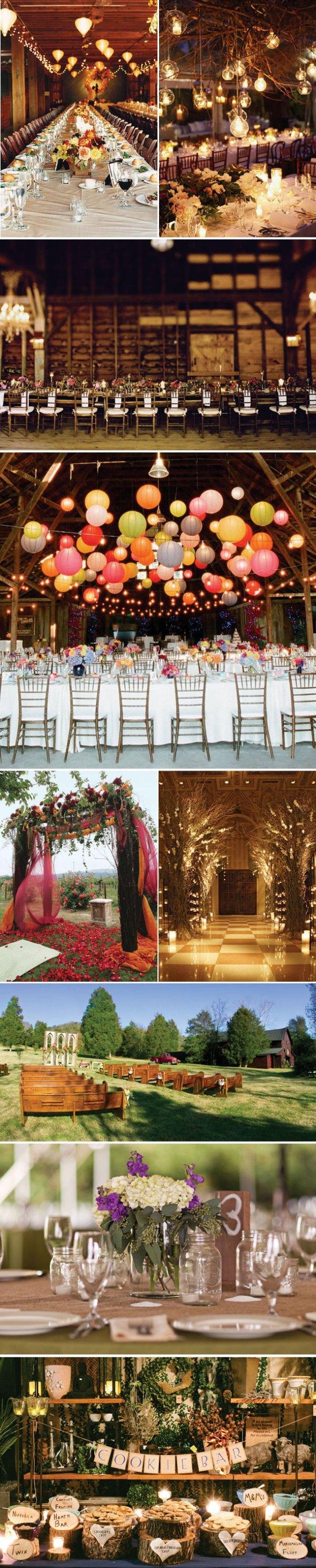 Boda campestre- Tendencias boda USA