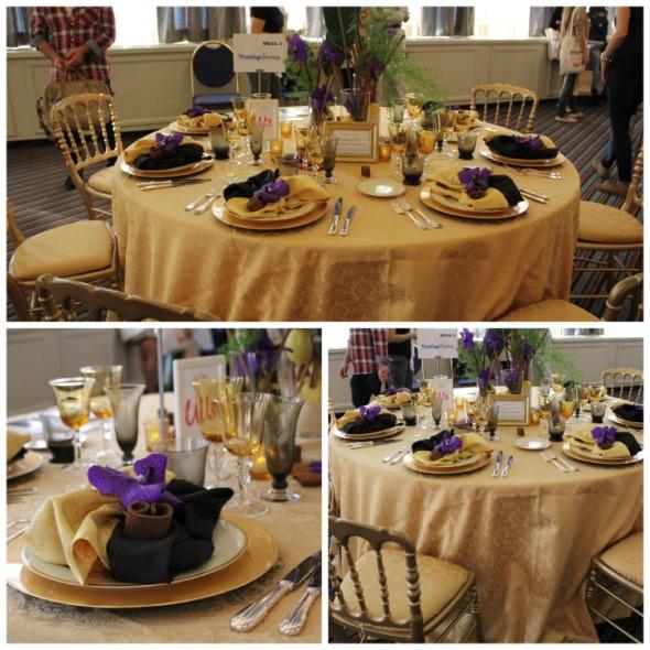 Mesa Aires de Ceylan presentada por Wedding Factory