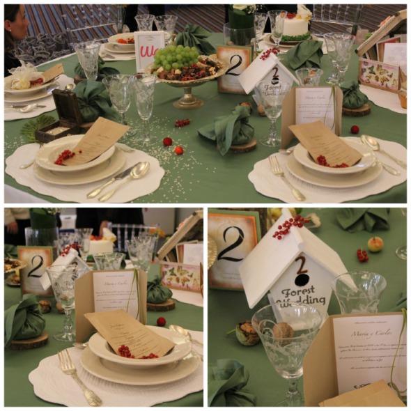 Mesa de Bodas de los Cuentos presentada por Wedding T&C Planners