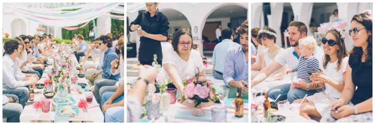 Ambiente en la Calista One Summer Party